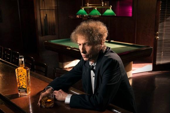 Heaven's Door co-founder Bob Dylan. Photo by John Shearer courtesy Heaven's Door Spirits.