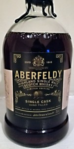 Aberfeldy 1999 Single Cask #3. Photo courtesy Holly Seidewand/Bacardi.