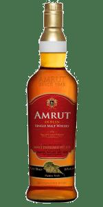 Amrut Madeira Cask Finish. Image courtesy Amrut Distilleries.