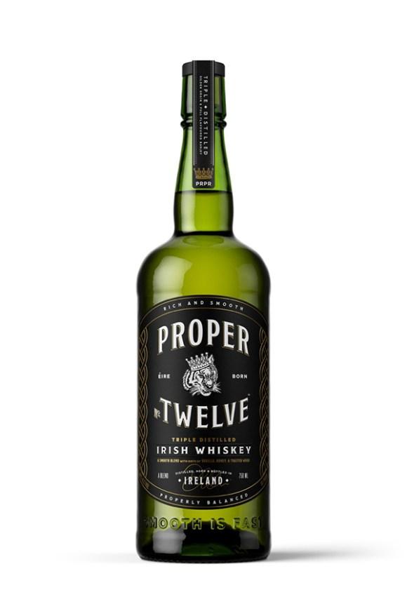 Proper No. Twelve Irish Whiskey. Image courtesy Eire Born Spirits.