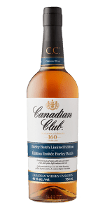 Canadian Club Barley Batch Limited Edition. Image courtesy Canadian Club/Beam Suntory.