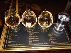 los vasos para whisky más comunes son: cardle glass, glecairn, copita, snifter, tumbler