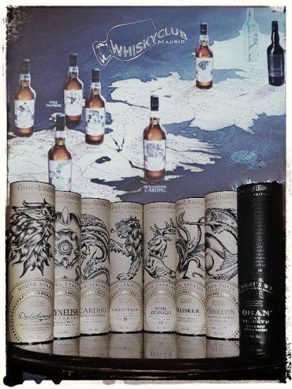 Imagen de la cata de Juego de Tronos en Whisky Club Madrid