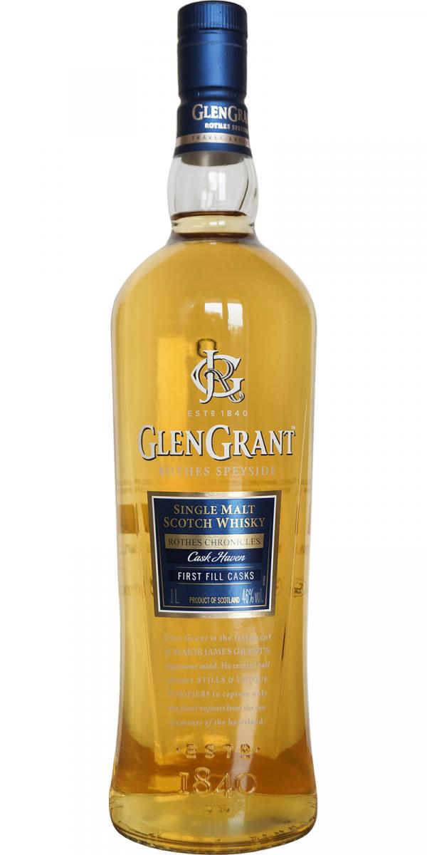 Glen Grants Cask Heaven añejado en barriles de primer llenado