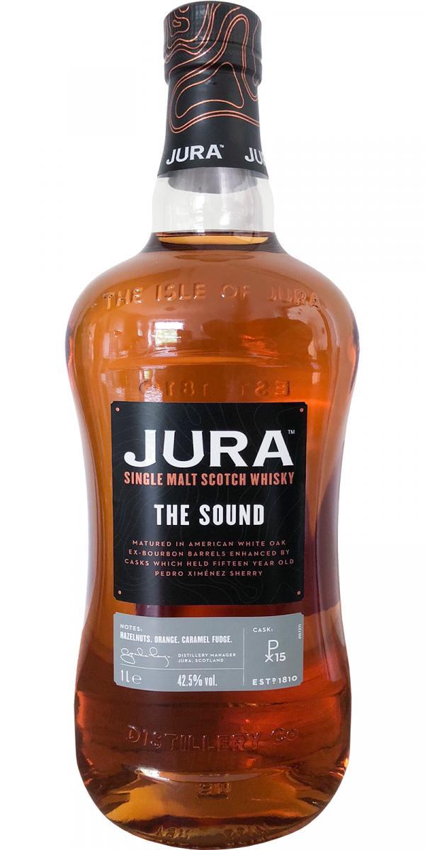 Jura The Sound afinado en barriles de PX en la cata del Whisky Club Madrid