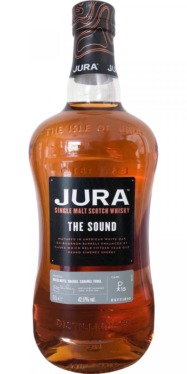 Jura The Sound afinado en barriles de PX en la cata del Whisky Club Madrid
