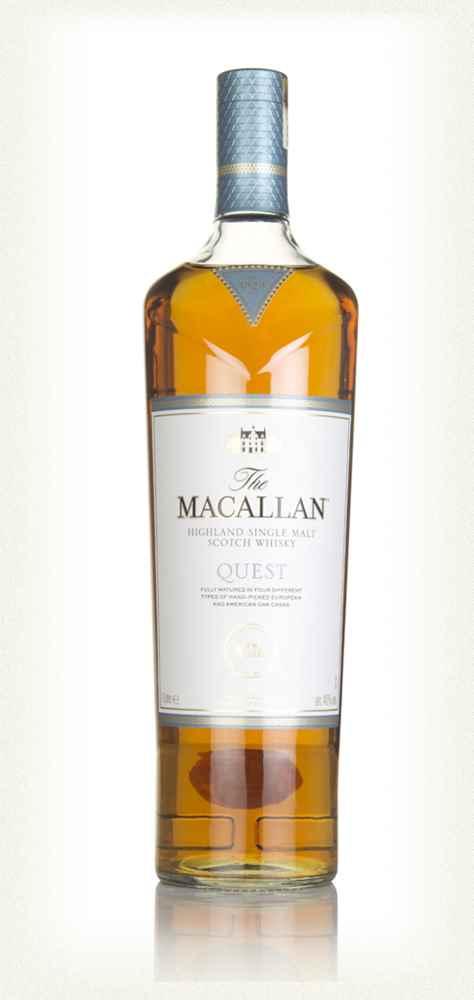 The Macallan Quest edición que ha sido añejada en cuatro tipos de barril en la cata del Whisky Club Madrid