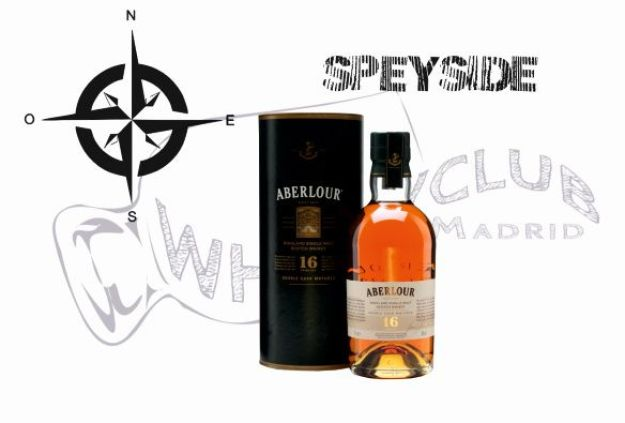 Aberlour 16 años Double Cask - single malt scotch whisky de la región de Speyside