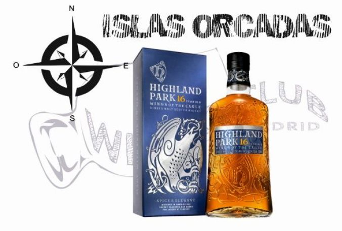 Highland Park 16 Wings of the Eagle de la Isla de Orkney