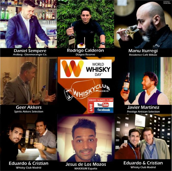 Los invitados para el World Whisky Day 2020