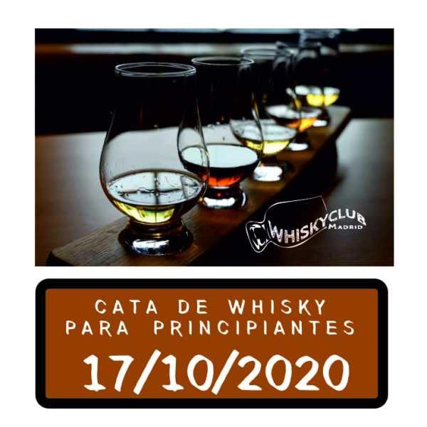 Catas de whisky para principiantes en Madrid