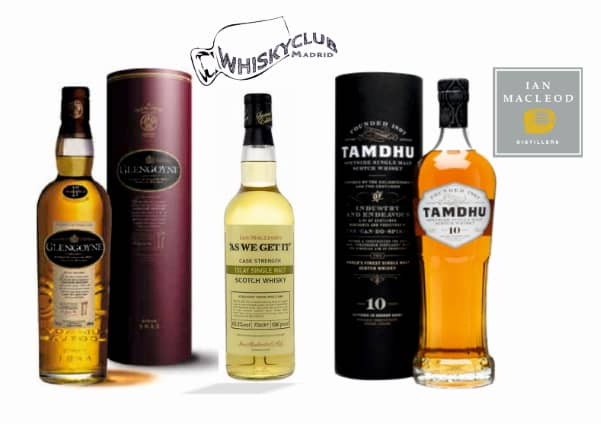 Glengoyne, As We Get It y Tamdhu-single malt de Ian Macleod Distillers en Whisky Club Madrid