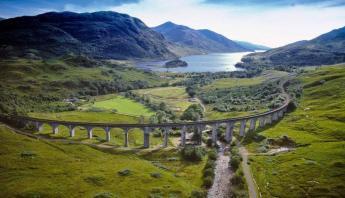 El viaducto de Glenfinnan escenario de películas