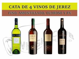 CATA VERTICAL DE JEREZ Y WHISKY