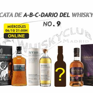 CATA DE A-B-C-DARIO DEL WHISKY OCTUBRE 2021 ONLINE