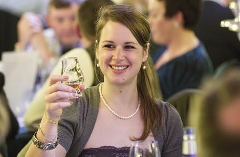 Die Londoner Whisky-Bloggerin und Botschafterin des Speyside Festival Alwynne Gwilt alias Miss Whisky