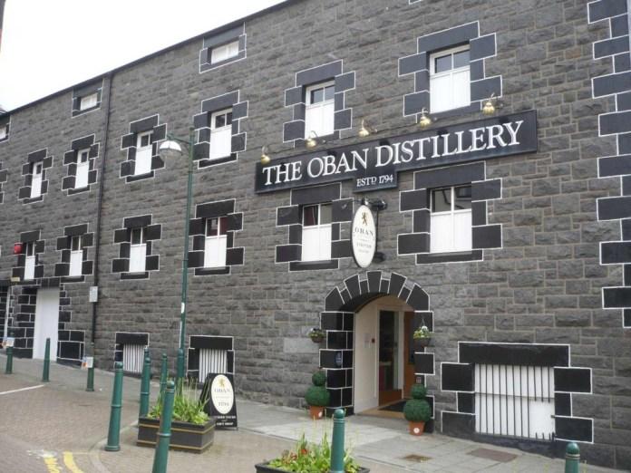 Destillerie Oban. Foto von Frank Gauert, alle Recht vorbehalten.