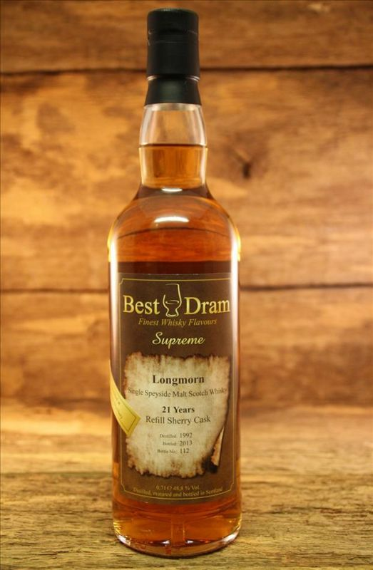 Longmorn-21-Jahre-Refill-Sherry-Cask-Best-Dram