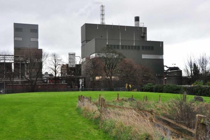 Midleton Distilleries heute, zweckmässig und effizient, für Touristen geschlossen