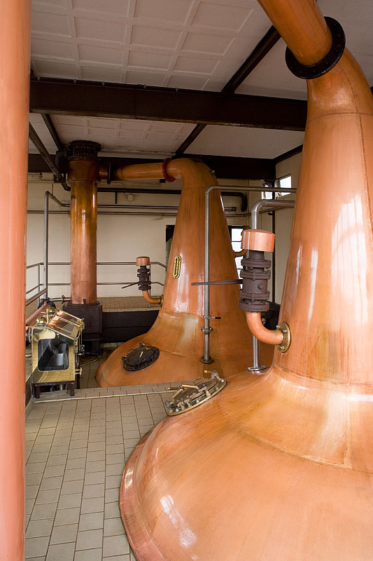 Pot Stills bei Cooley