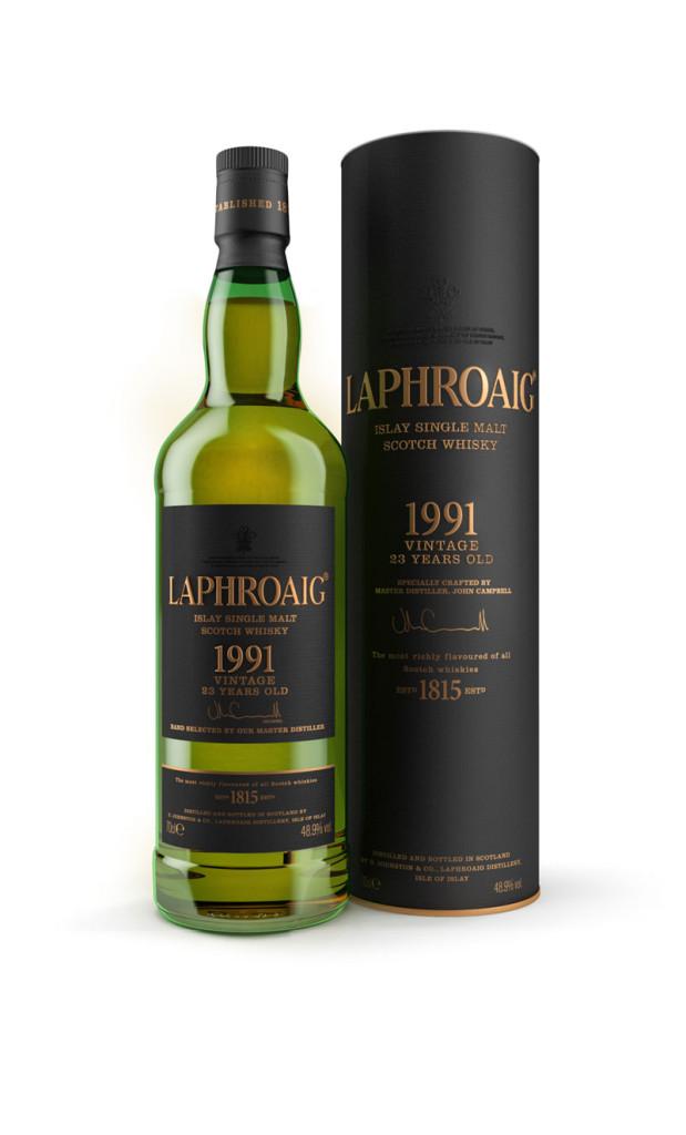 Laphroaig_Vintage_1991