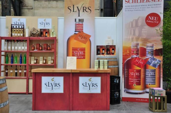 Der Stand von Slyrs auf der Finest Spirits & Beer Convention Rheim/Ruhr - Copyright Ernst J. Scheiner 2014.