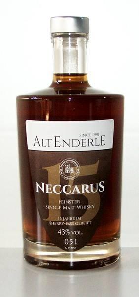 AltEnderle Neccarus 15 Jahre Sherry-Fass 0,5 l