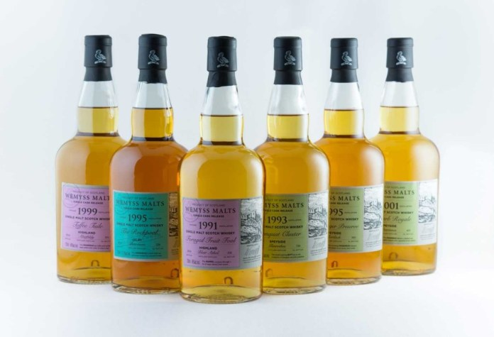 Wemyss single casks March 2015 group low res