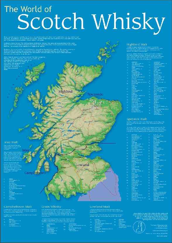 Schottland Karte Pdf.Neue Landkarte Des Whiskys Von Der Scotch Whisky Association