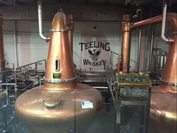 In der Teeling-Distillery in Dublin. Foto: Stephen Teeling