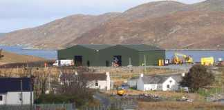 Isle of Harris Distillery Warehouses