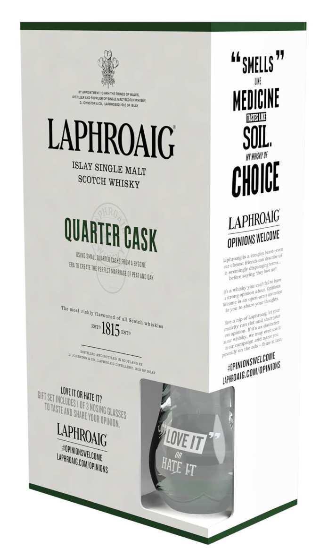 Laphroaig_Geschenkset 2015