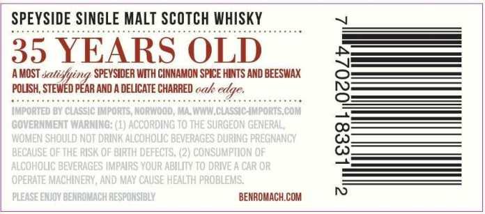 benromach 35back