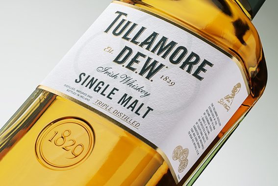 Tullamore D.E.W._Single Malt_14 Year Old_Anschnitt