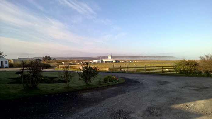 Der kleine Flughafen auf Islay