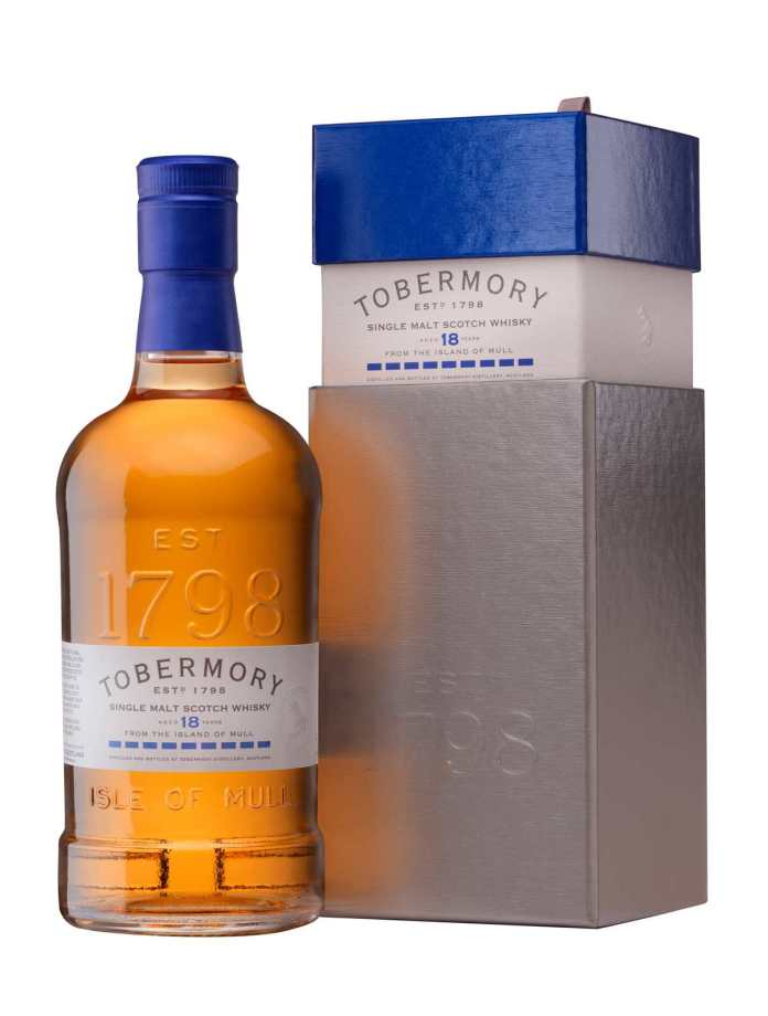 Tobermory 18yrs with Box kleiner