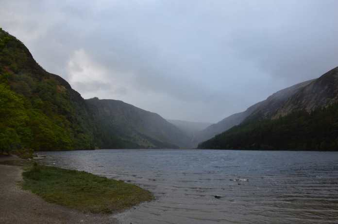 Ein blick in die Wicklow Mountains