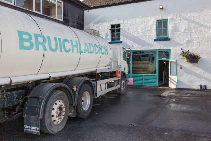 Der Bruichladdich-Truck. Bild: Marcel Freudenstein