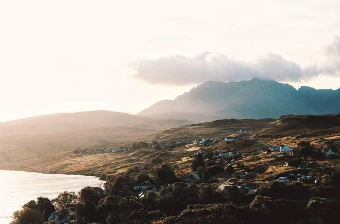 Ein Blick über die Insel Skye