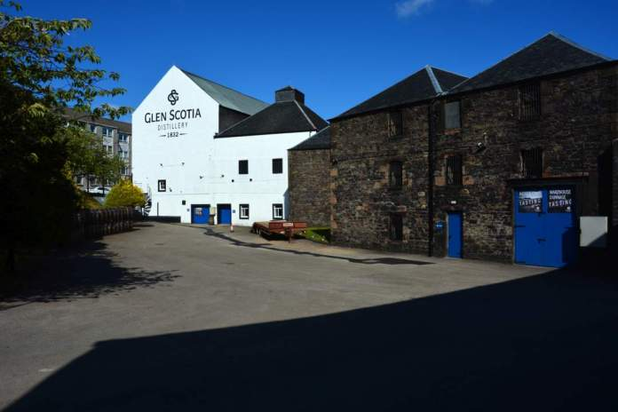 cke Saddell and High - die GlenScotia Distillery