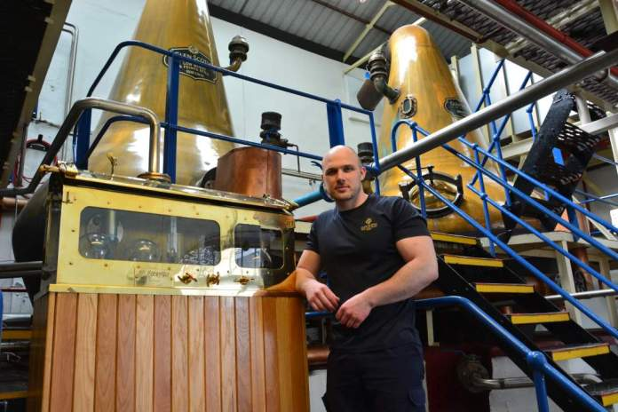 Sean McGeachy Stillman bei Glen Scotia