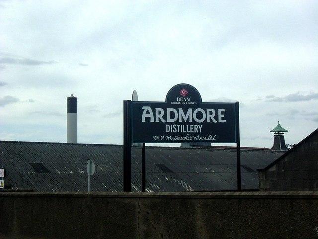 Ardmore Destillerie, Foto von Stanley Howe unter CC-Lizenz
