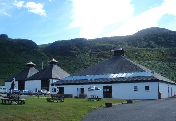 Arran Destillerie, Foto von Paul Birrell, CC-Lizenz