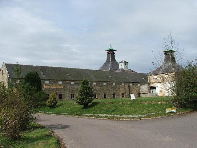 Coleburn Destillerie, Foto von C A Millar, CC-Lizenz