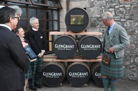 Glen Grant HRH visit Opening Bottle Hall 10
