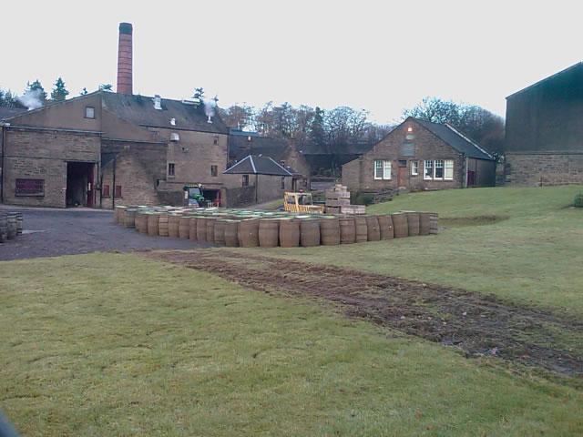 Glencadam Destillerie, Foto von TB, CC-Lizenz