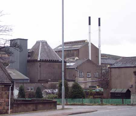 Caperdonich Destillerie (jetzt abgerissen), Foto von Potstill.org