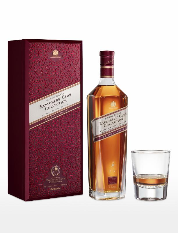 A WHISKY FIT FOR KINGS, JOHNNIE WALKER® RELEASES JOHNNIE WALKER EXPLORERS' CLUB COLLECTION - THE ROYAL ROUTE™
