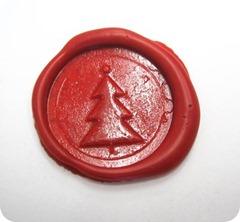 xmas-tree-wax-seal