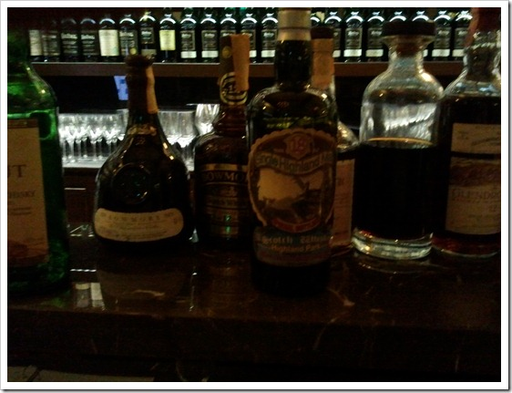 A few really special whiskies